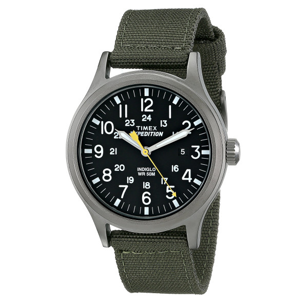 Timex Men's Expedition Scout Watch with Nylon Band