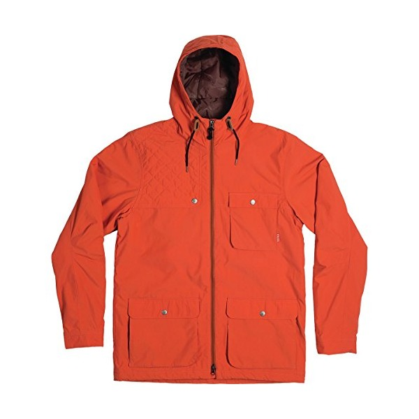 Poler Outpost 2L Jacket - Men's Burnt Orange, XL