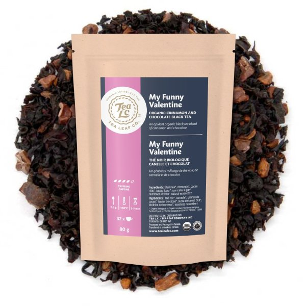 MY FUNNY VALENTINE | Organic Cinnamon Chocolate Loose Leaf Black Tea