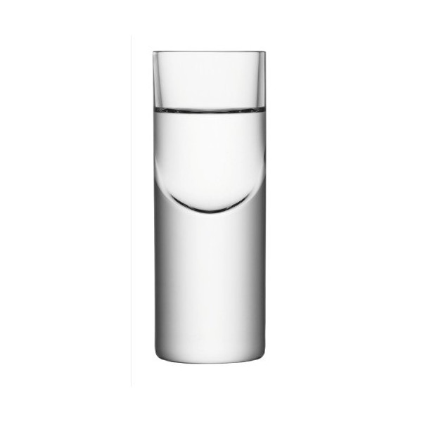 LSA SET 2 BORIS VODKA GLASS 50ml CLEAR