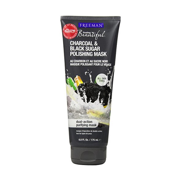 Freeman Facial Charcoal & Black Sugar Polish Mask 6 oz.