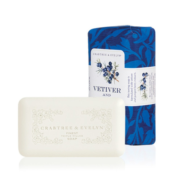 Crabtree & Evelyn Vetiver & Juniper Triple Milled Soap