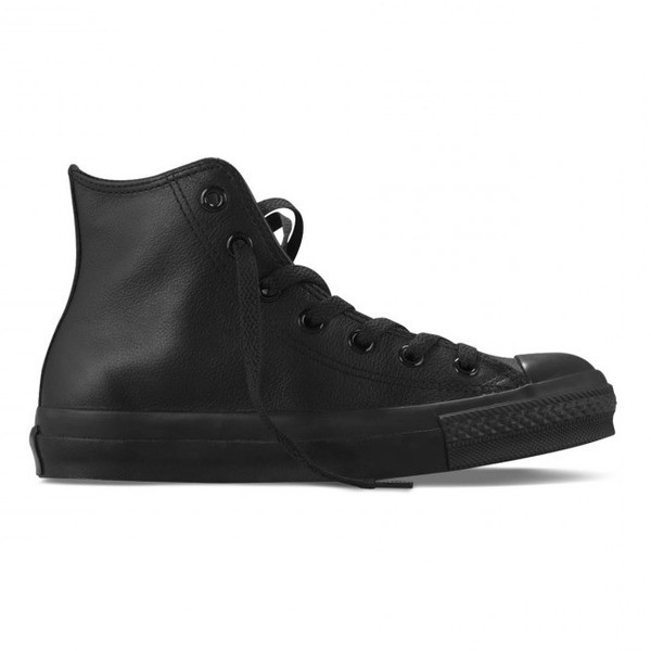 Converse Men's Chuck Taylor All Star Black Leather Sneaker