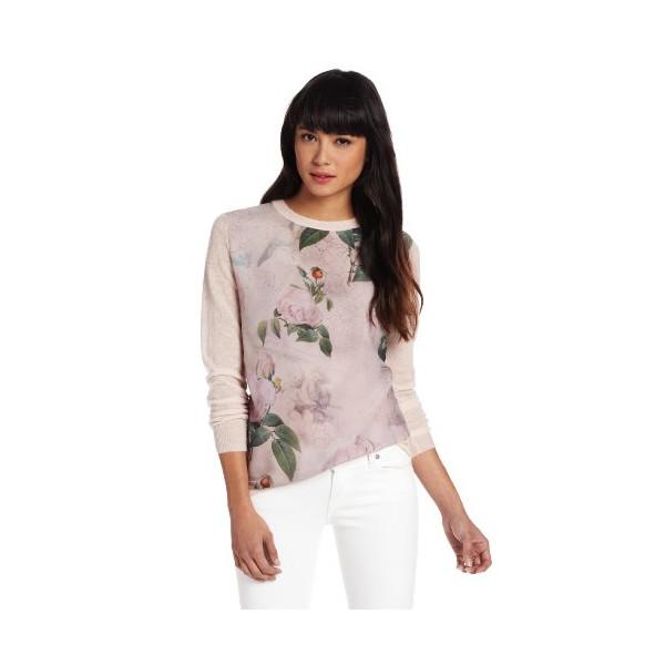 Ted Baker Women's Sissi Sweater, Light Pink, 2