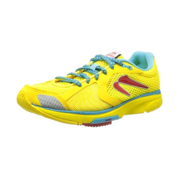 Newton Running Women's Distance III Yellow/Red 8.5 B - Medium