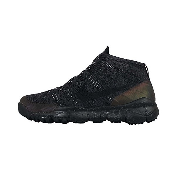 Nike Men's Flyknit Trainer Chukka FSB, BLACK/BLACK-ANTHRACITE, 8.5 M US