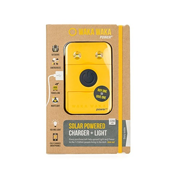 WakaWaka Power+ Solar Charger, Yellow