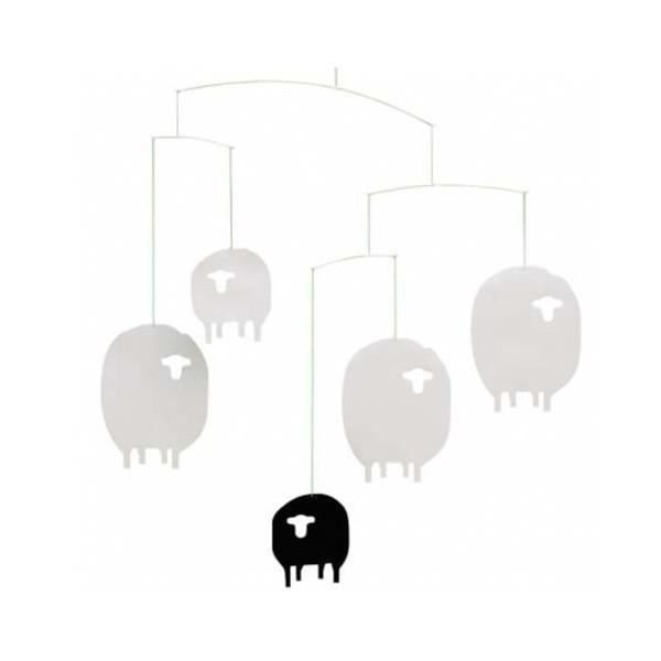 Flensted Mobiles Nursery Mobiles, Sheep Mobile