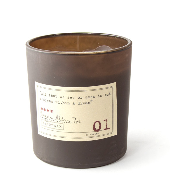 Paddywax Soy Wax Candle Library Collection, Edgar Allan Poe