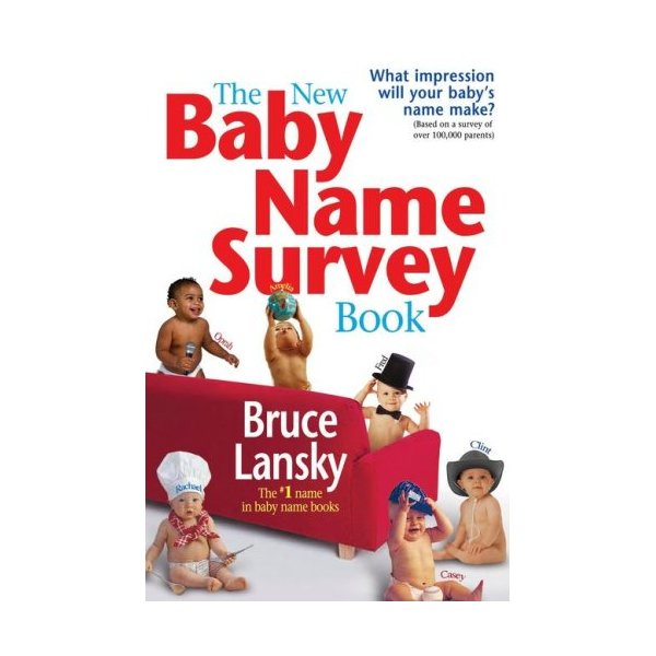 The New Baby Name Survey Book: How to pick a name that makes a favorable impression for your child