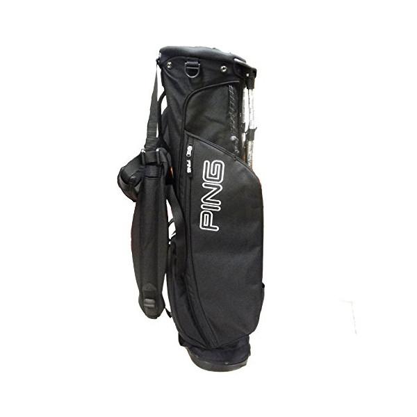 Ping L8 Stand Bag, Black