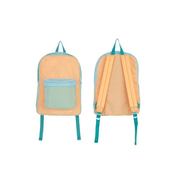 American Apparel Color Block Nylon Cordura® School Bag - Honolulu / One Size
