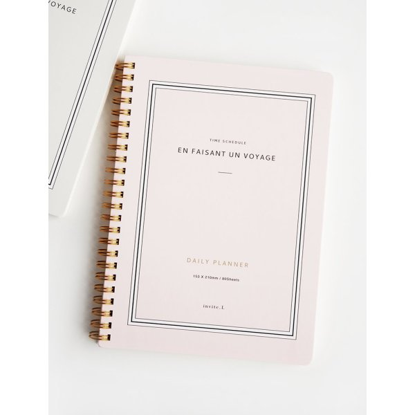 invite.L Daily Planner 2nd Edition - Pink