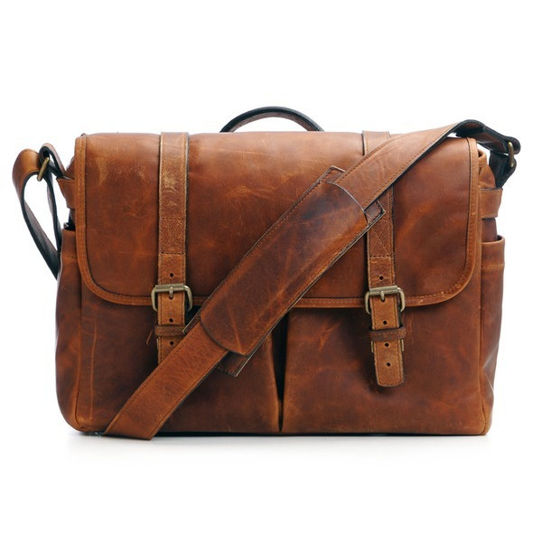 ONA Brixton Antique Cognac Leather Camera/Messenger Bag