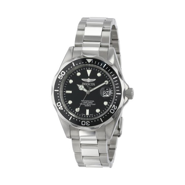 """Invicta Men's 8932 """"Pro Diver Collection"""" Stainless Steel Bracelet Watch"""