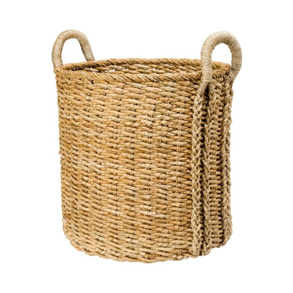Extra Large Round Storage Basket in Sea Grass