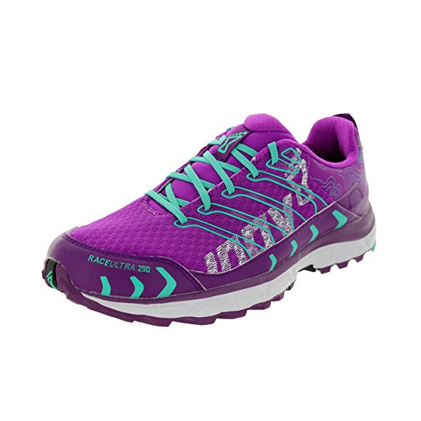 Inov-8 Women's Race Ultra 290 Running Shoe,Purple/Teal,9 B US