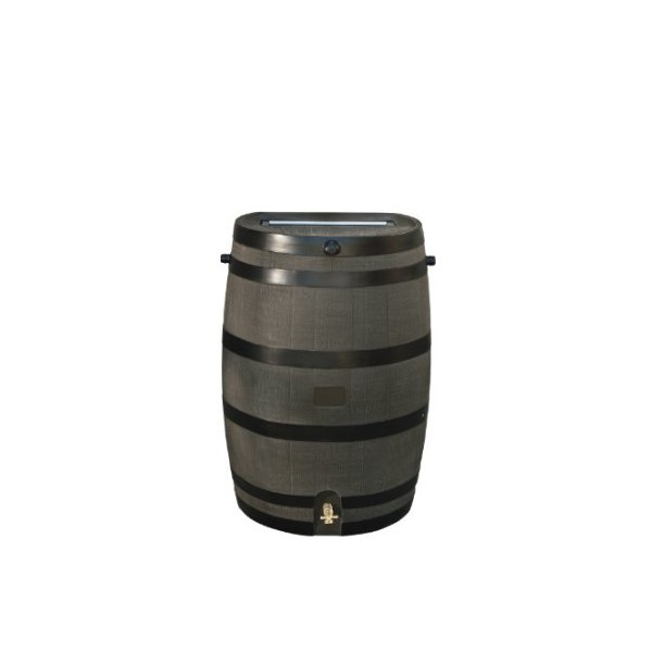 RTS Home Accents 50-Gallon Rain Water Collection Barrel with Brass Spigot