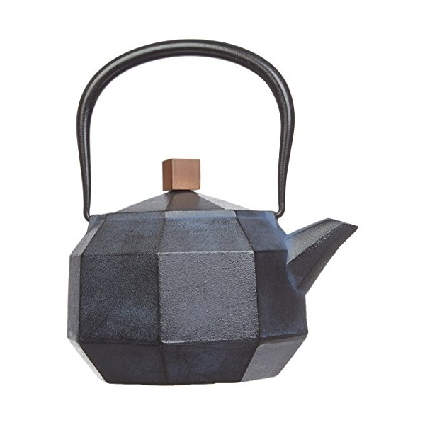 Nambu ironware iron kettle octagonal 'Blue'