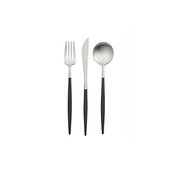Cutipol Goa Series Home Dinner Flatware Cutlery Set of 3 Pcs, Spoon, Fork, Knife, Professional Cutlery Brand