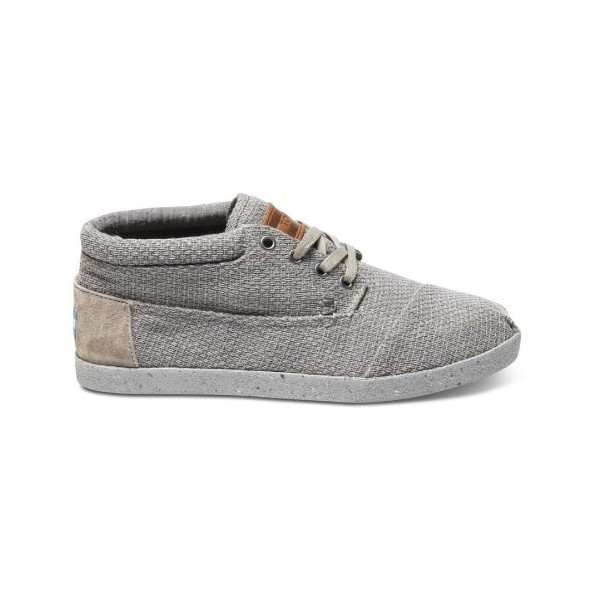 Toms Men's Botas Grey Basket Weave