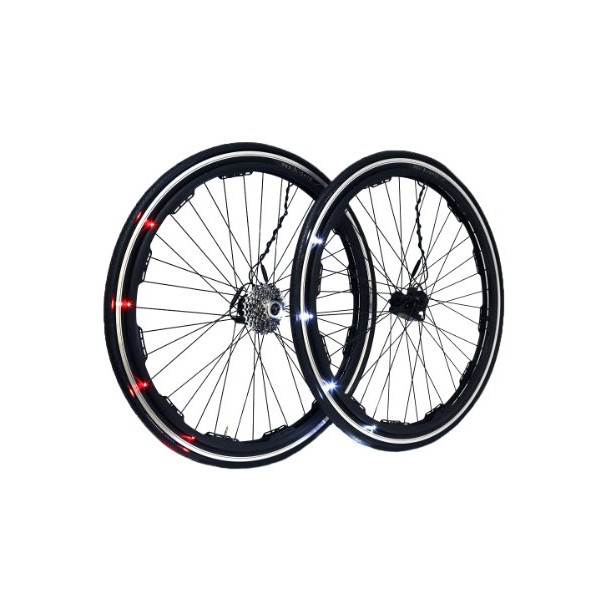 Revolights City 700c Multi-Speed Bicycle Wheels