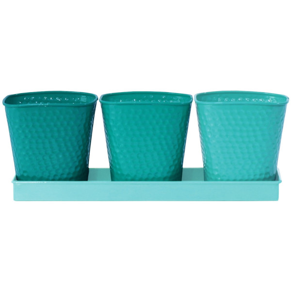 Robert Allen Home and Garden Selby Herb Garden Set, Bluemoon