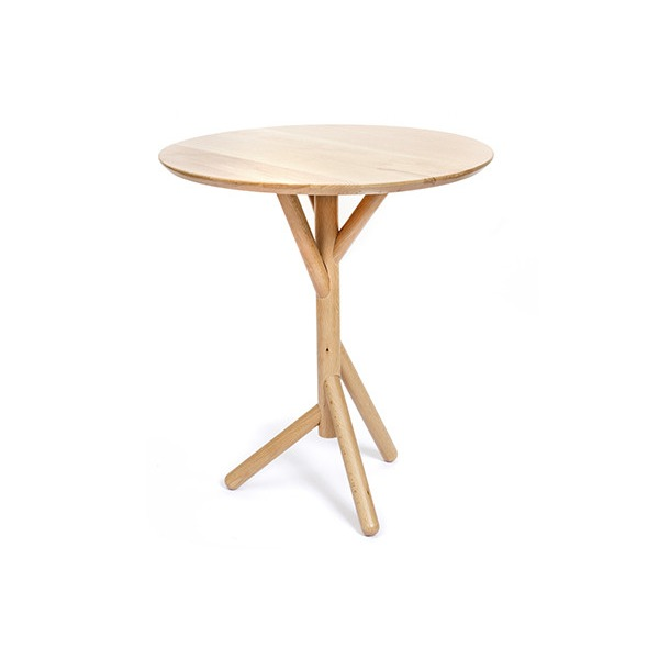 Kikkerland Beechwood Side Table
