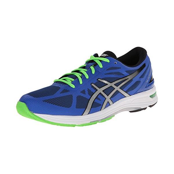 ASICS Men's Gel-Ds Trainer 20 Running Shoe,Blue/Silver/Black,10 M US