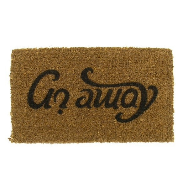 Suck UK Come In and Go Away Reversible Doormat