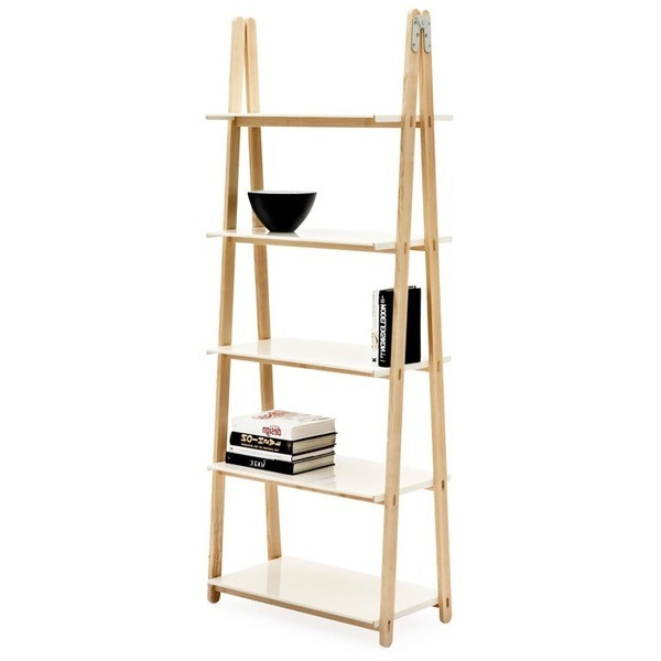 One Step Up Bookcase, High