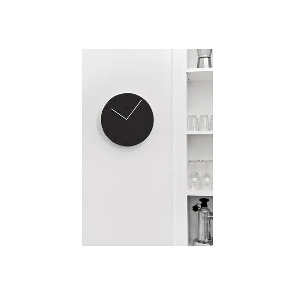 Ora Wall Clock Color: Grey
