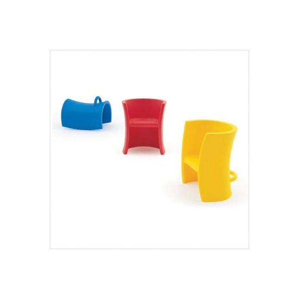 Trioli Chairs Colors: Red