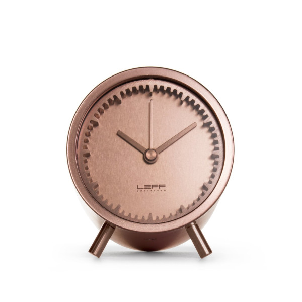 piet hein eek tube clock copper