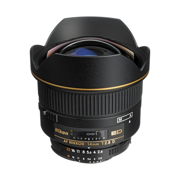 NIKKOR 14mm f/2.8D ED Ultra Wide Angle Fixed Zoom Lens