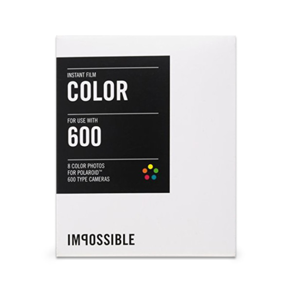 Color Film for Polaroid 600-Type Cameras