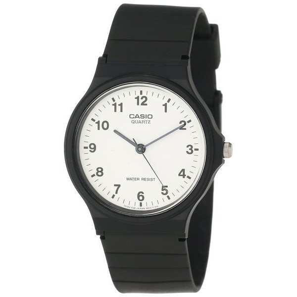 Casio Analog Black Resin Strap Watch