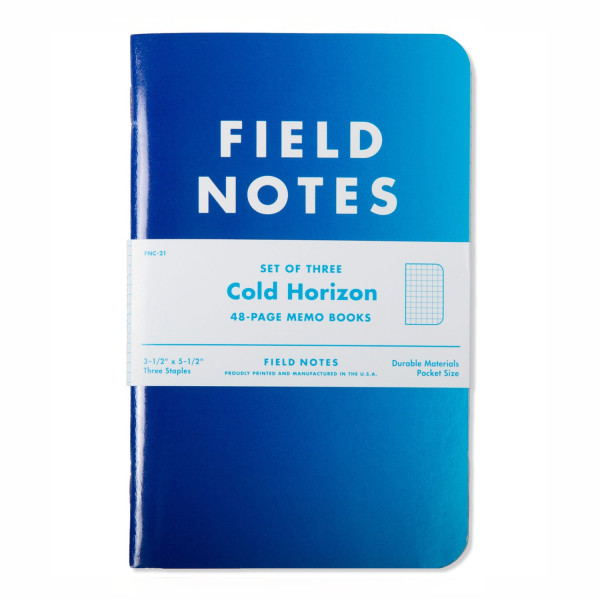 Field Notes Brand Cold Horizon 3-Pack