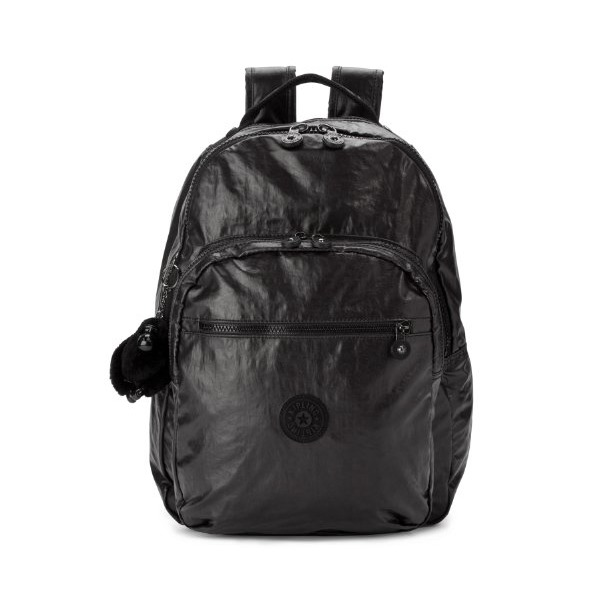 Kipling Seoul Laptop Backpack (Lacquer Black)