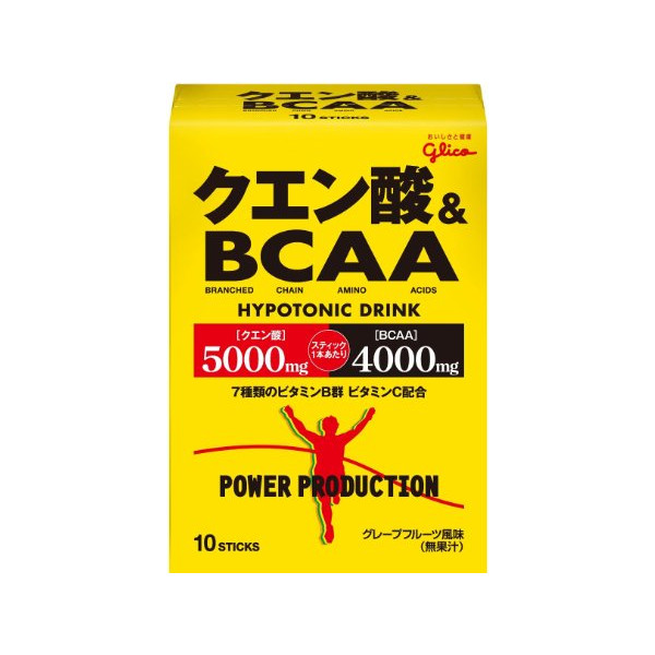 Glico Citric Acid & BCAA 124g