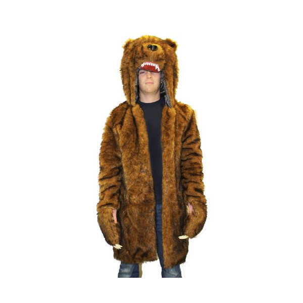 Workaholics Official Bear Costume Coat