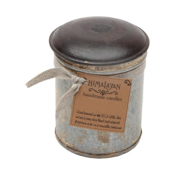 Himalayan Trading Post Spice Tin Soy Candle, Campfire, 8-Ounce