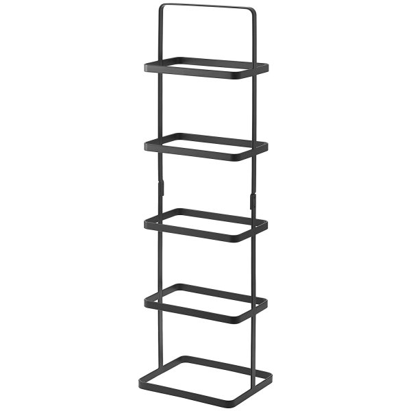 YAMAZAKI home Tower Shoe Rack, Tall, Black