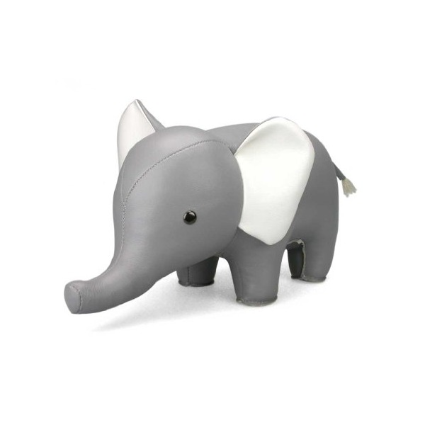 Zuny Classic Series Elephant Gray Animal Bookend
