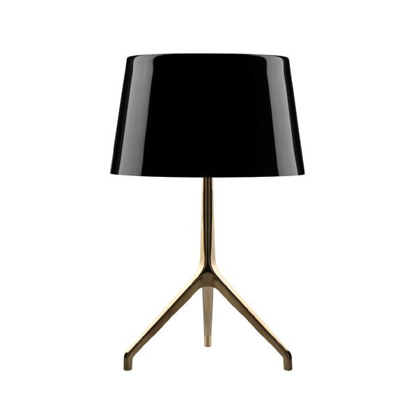 Lumiere XX table lamp - large, glossy white, white, 220 - 240V (for use in Australia, Europe, Hong Kong etc.)