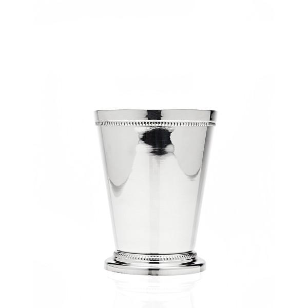 "Godinger Beaded Barware Beaded 4-1/4"" Mint Julep Cup,"