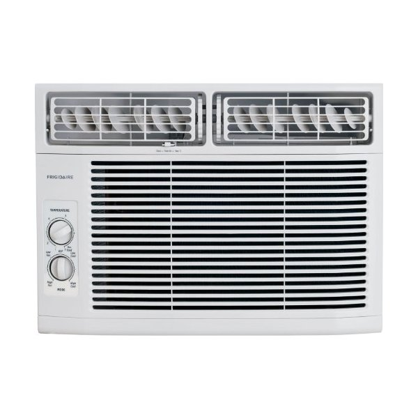 Frigidaire FRA102BT1 10,000 BTU 115-Volt Window-Mounted Compact Air Conditioner with Mechanical Controls