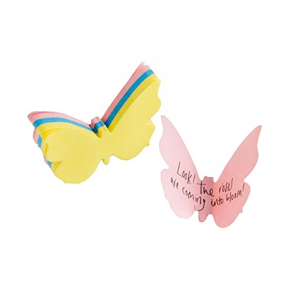 SUCK UK 3D Butterfly Sticky Notes