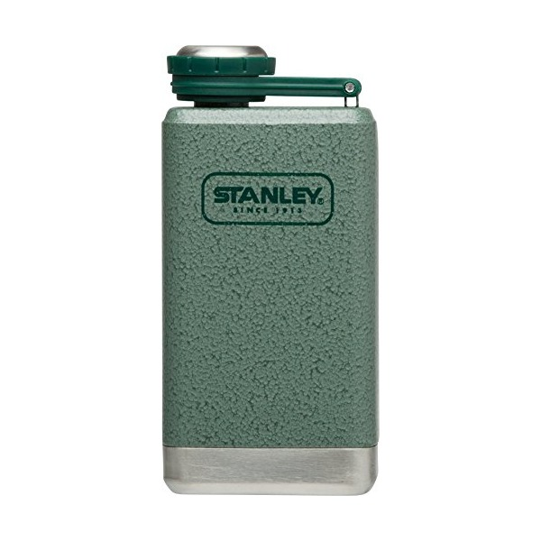 Stanley Adventure Stainless Steel Flask 5oz Hammertone Green