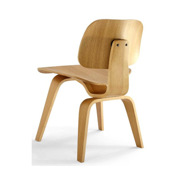 AEON Richmond  Plywood Dining  Chair, White Oak Finish